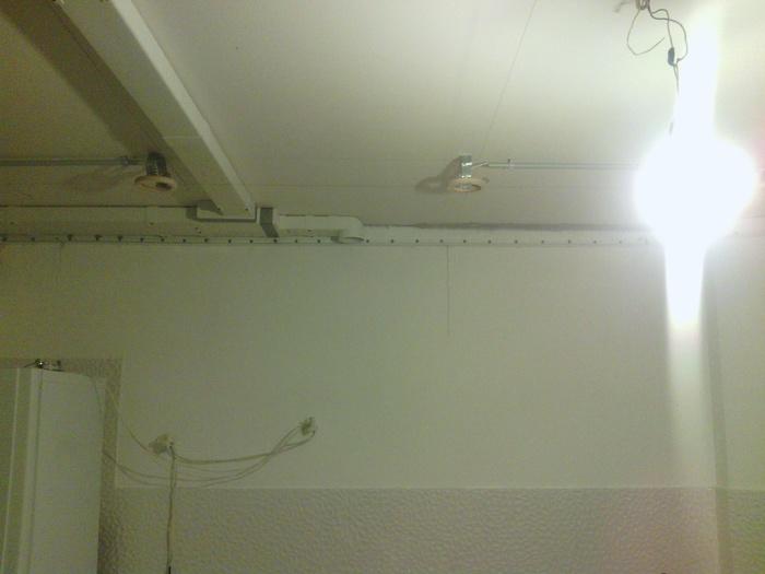 Натяжной потолок своими руками ремонт