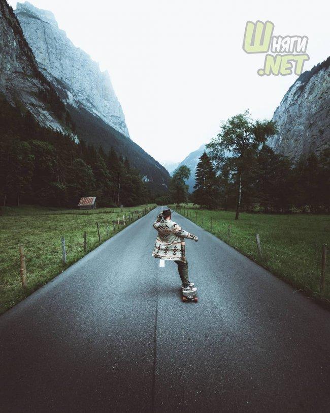 Пейзажи Швейцарии особенно живописны швейцария