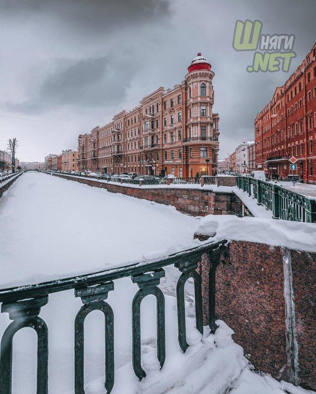 Величие зимнего Санкт-Петербурга санкт-петербург, россия