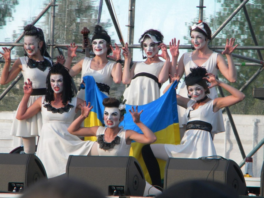 Современная украинская сцена.