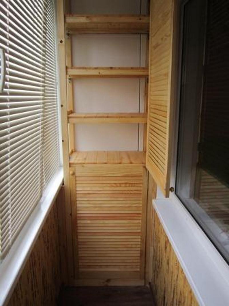 Зачем нужны шкафчики на балконе и как их сделать вдохновение