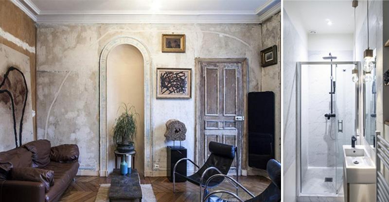 Пример создания закрытой спальни в маленькой квартире вдохновение