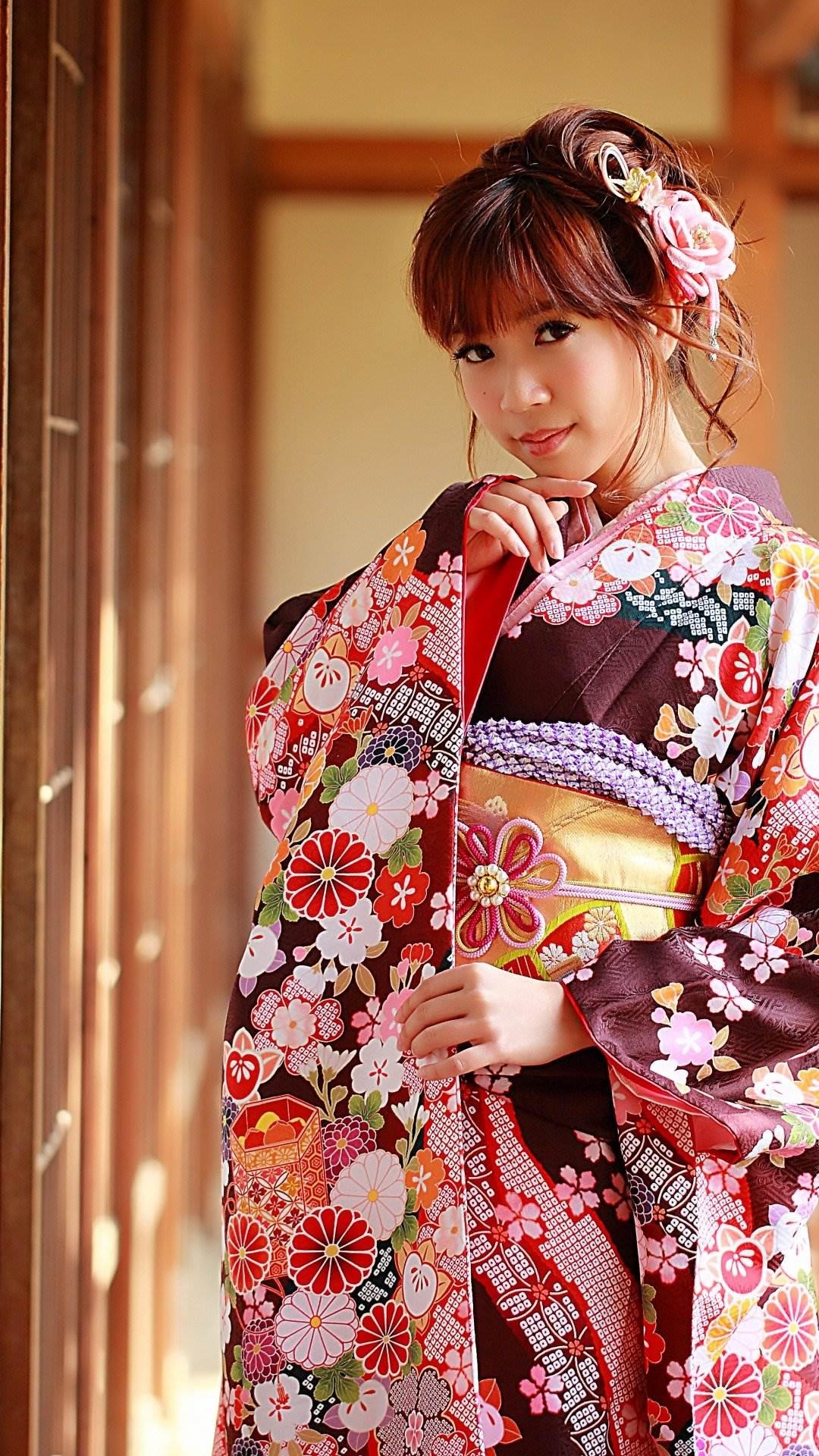 Красивые японки в традиционных нарядах красивые фото