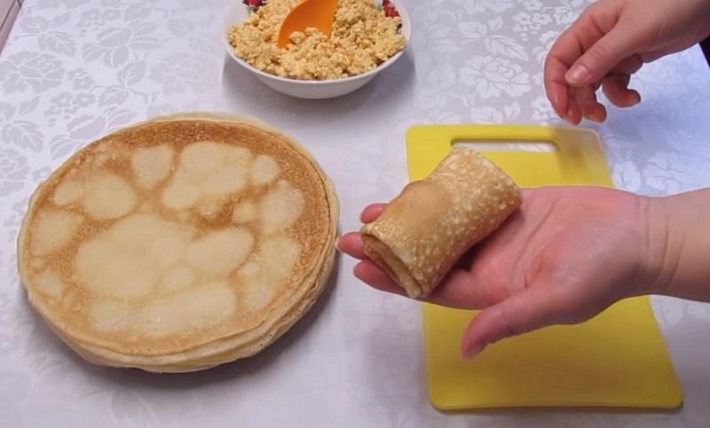 Инструкция по приготовлению блинов на воде кулинария