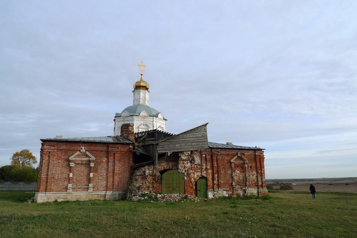 Глебово Городище. Битва на реке Воже рязанская область