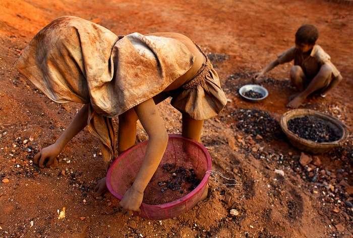 С широко закрытыми глазами: детский труд в разных частях мира. интересное