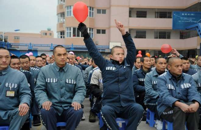 Как сидят в китайской тюрьме интересное