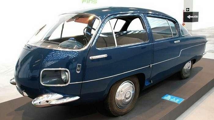 Уникальные и ныне вымершие легковушки вагонной компоновки   (36 фото) авто