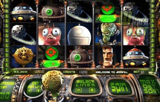 Игровые автоматы с необычной структурой