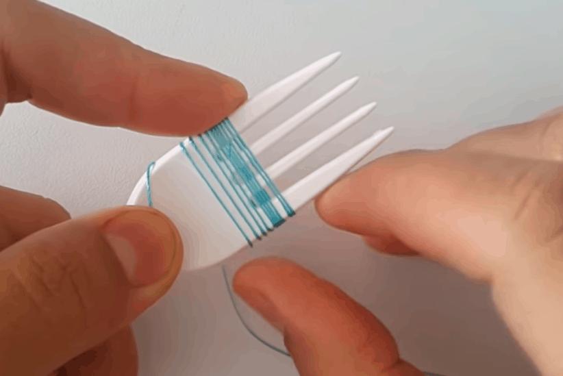 Кружево на вилке: уникальная техника плетения, которой захочется научиться кружево на вилке