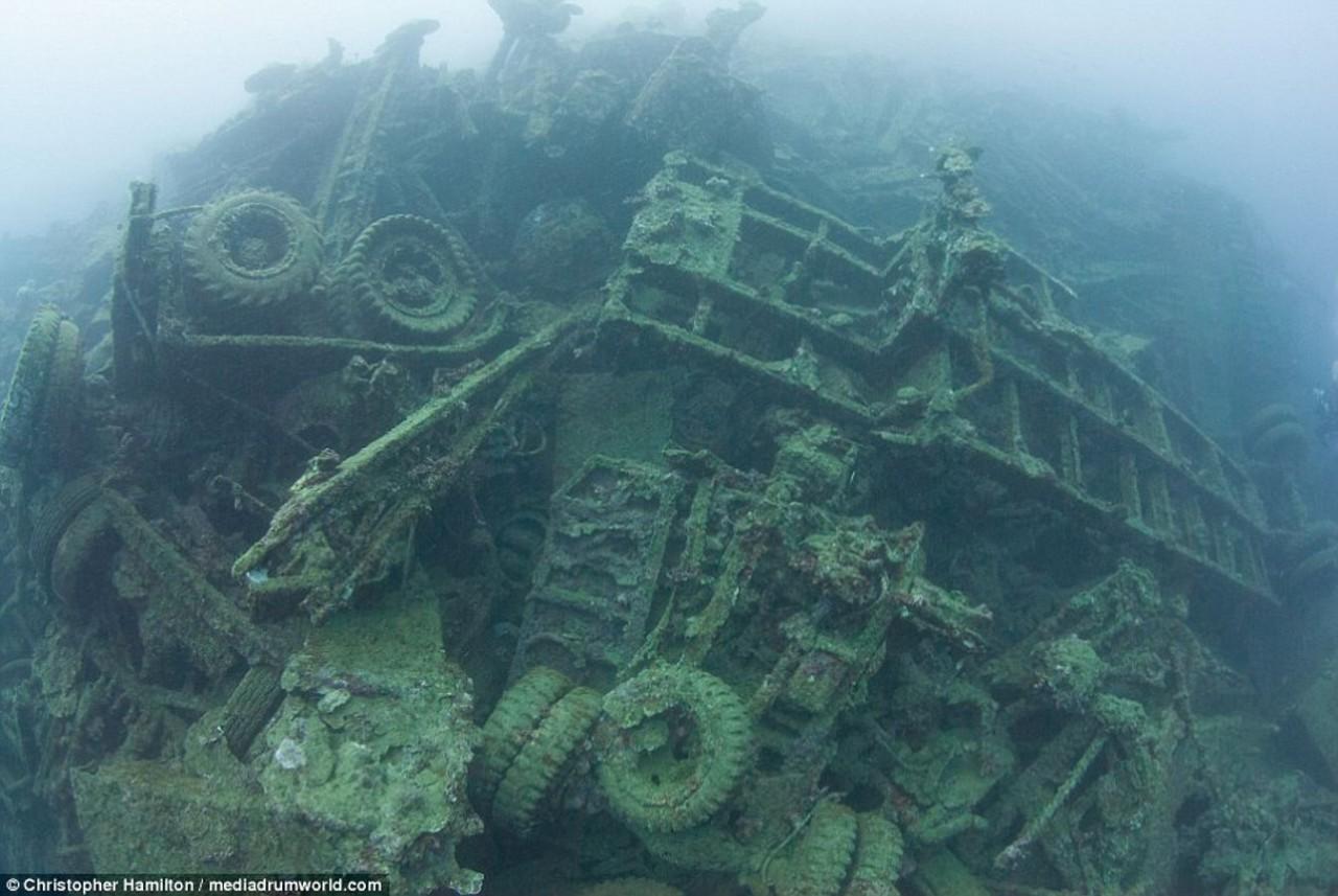 Куда делась техника после войны на Тихом океане? Не поверите... дальние дали