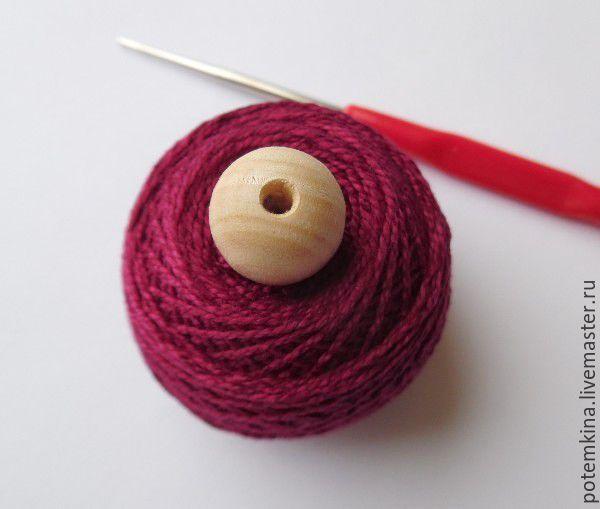 Бусина, обвязанная крючком. Как обвязать бусину крючком: мастер-класс вязание