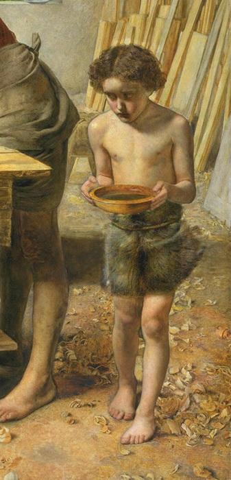 Почему картина Джона Милле «Христос в родительском доме» стала причиной скандала и началом нового направления в искусстве
