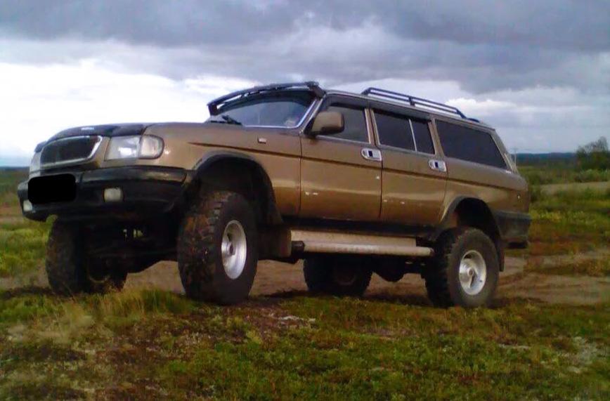 В Нарьян-Маре продают ГАЗ-310221 «Волга» на полноприводном «уазовском» шасси «командор»