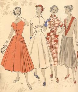 Шьем юбки в стиле 50-х годов женские хобби