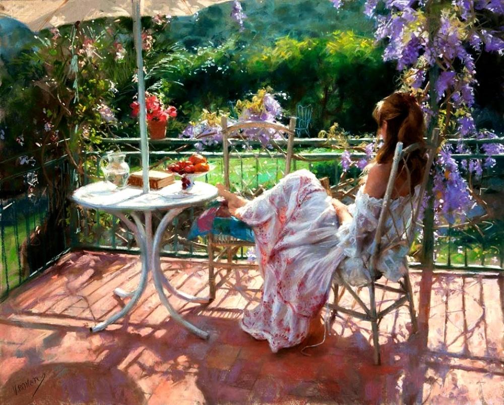 Пленительные картины испанского художника живопись