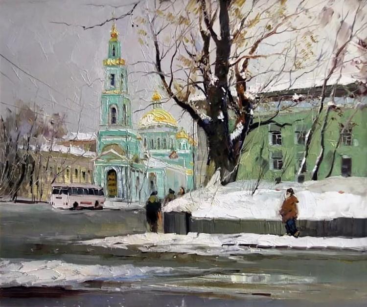 Художник Александр Колотилов. Сельские пейзажи