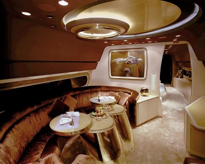 Самые роскошные интерьеры самолетов путешествия