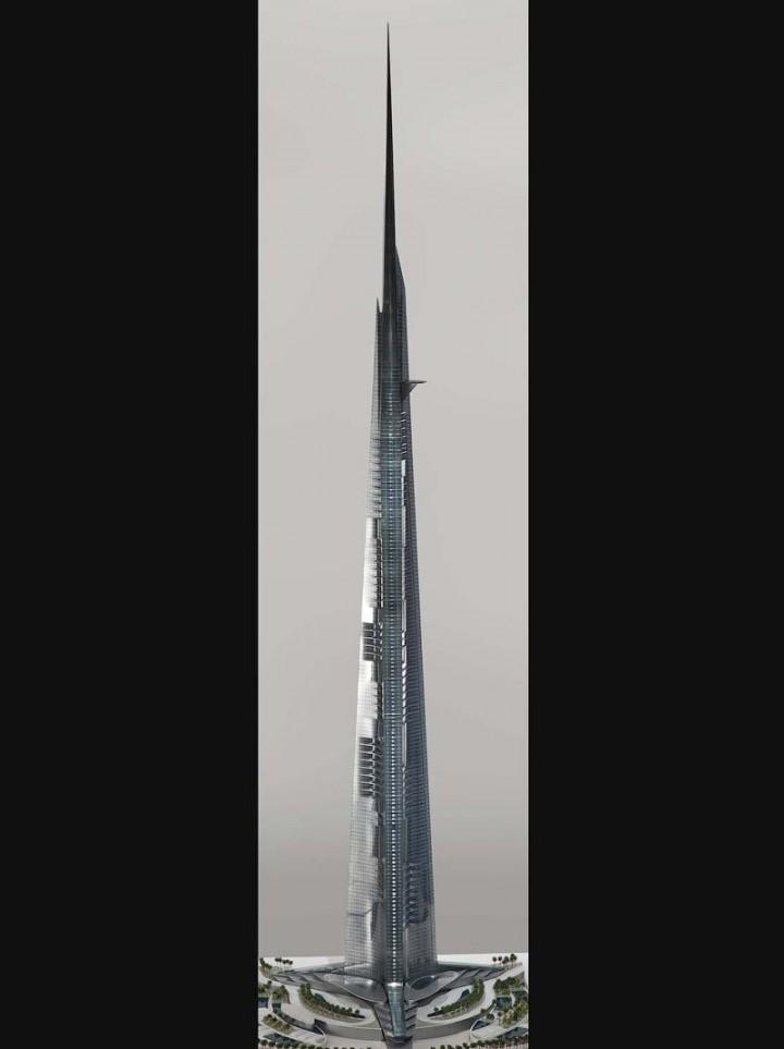 Строительство небоскреба высотой в один километр архитектура