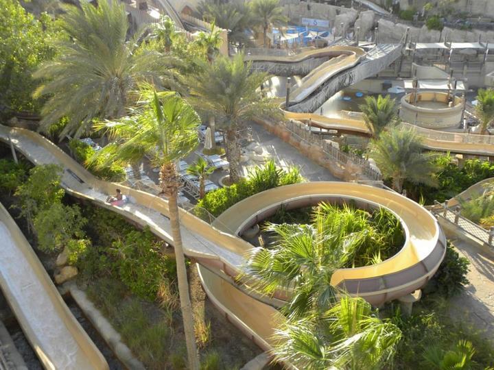 «Вайлд Вади» — Аквапарк в Дубае (11 фото) путешествия