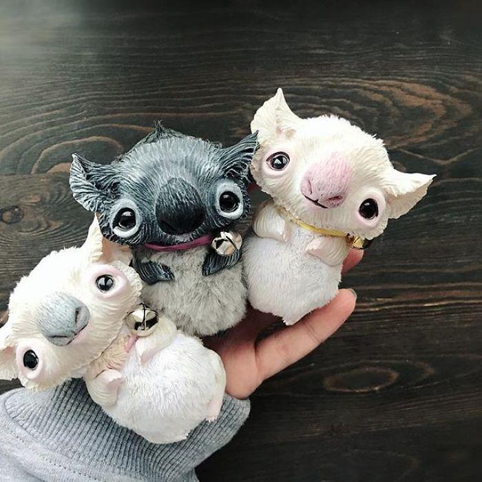 Очаровательные существа Анны Назаренко