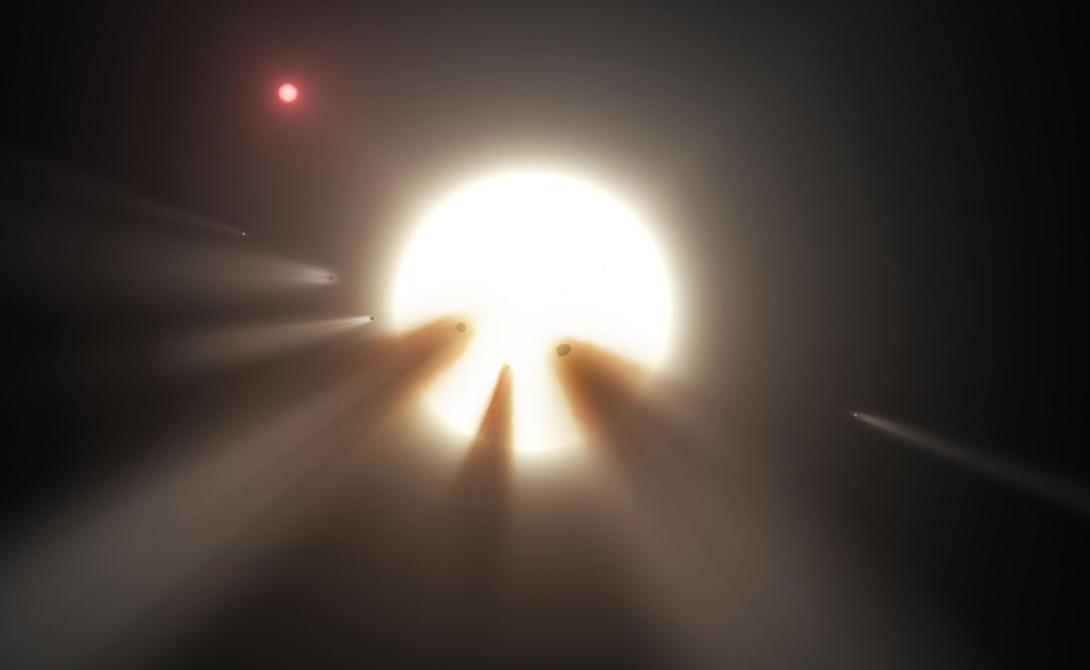 В космосе обнаружена мегаструктура внеземной цивилизации kic 8462852