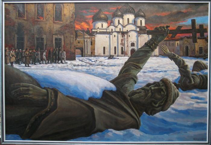 Российский художник. Дмитрий Березин иллюстрация