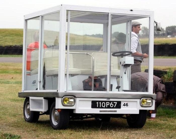 Шаромобиль и куб на колесах: 10 странных автомобилей из прошлого, которые как минимум вызывают недоумение 228