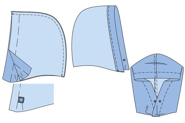 Как с помощью скотча вдеть шнур в кулиску кулиска