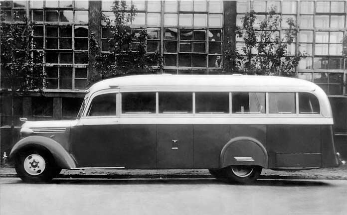 Самые красивые автобусы СССР