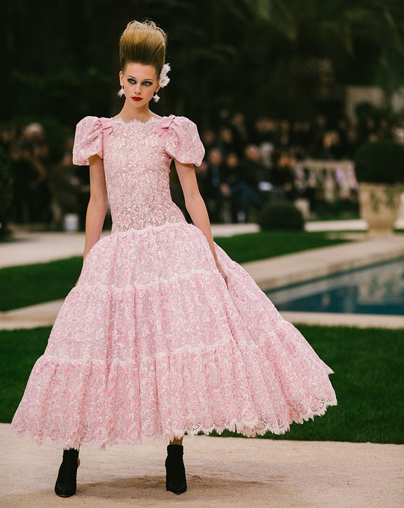 Показ Chanel Haute Couture весна 2019 в Париже - грандиозно и шикарно! chanel haute couture