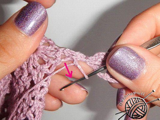 Безотрывное вязание крючком мотивов мелких элементов: мастер-класс вязание