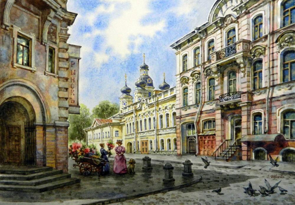 Художница Ольга Ивлева. По городам и странам город