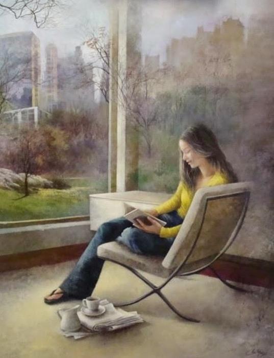 Очаровательная нежная живопись испанской художницы Ана Муньос живопись