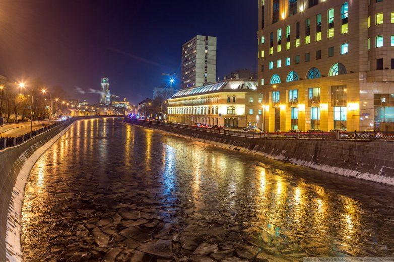 Москва заледеневшая