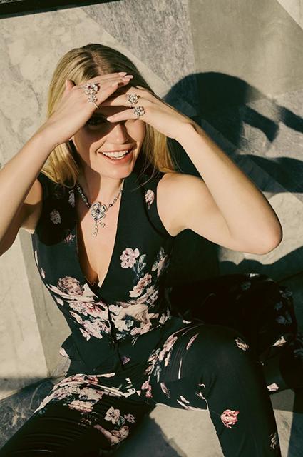 Китти Спенсер снялась для глянца и рассказала о планах на будущее фотосессии