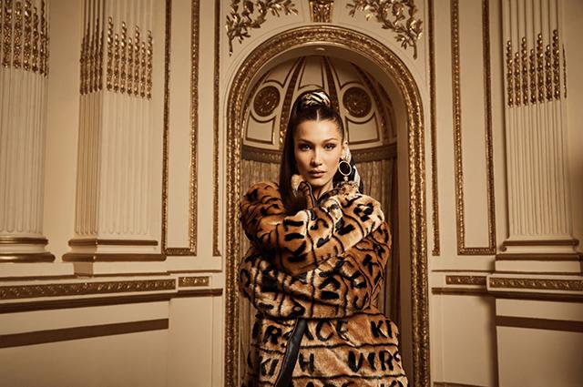 Белла Хадид стала лицом новой рекламной кампании Kith x Versace звезды в рекламе