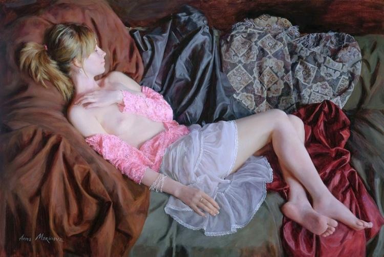 Художник Анна Маринова. Две самые большие красоты мира