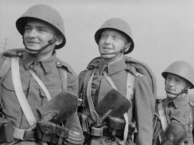 Саперная лопатка – друг солдата инвентарь