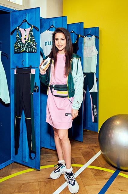 Алина Загитова стала амбассадором Puma и представила новую коллекцию в Москве светская жизнь