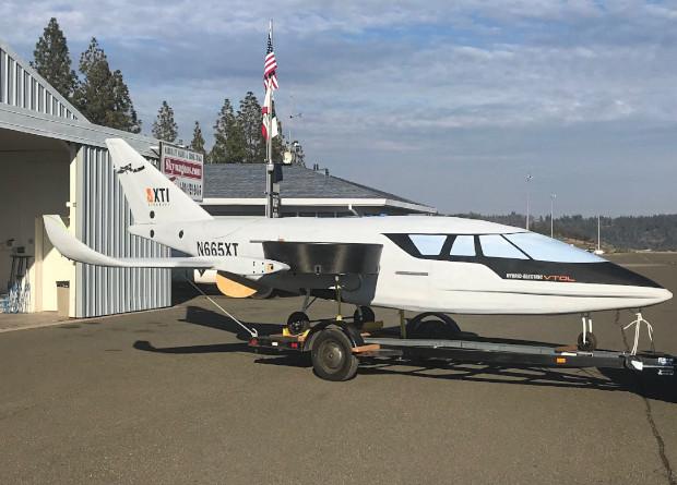 Трехвентиляторный гибридный самолет или первый шаг к летающим авто обзоры