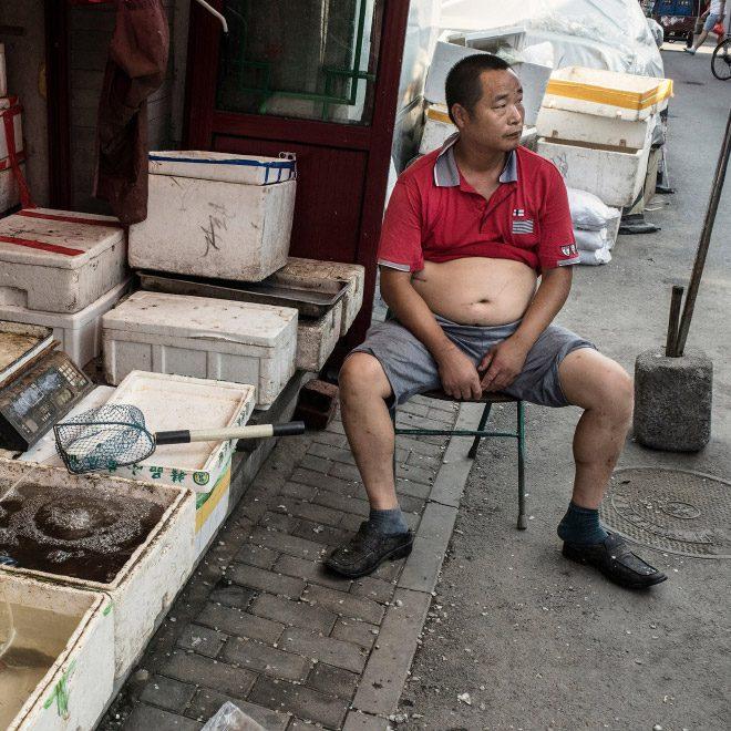 Пекинское бикини - модный тренд китайский мужчин