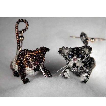 Плетём животных из бисера бисероплетнеие