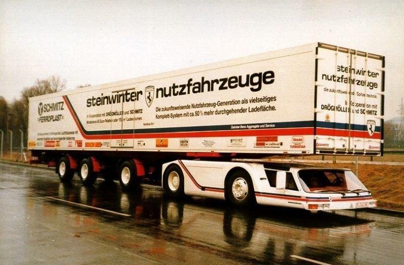 Steinwinter Supercargo 20.40: вероятно, самый странный грузовик из когда-либо созданных