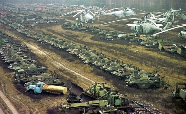 Куда пропала вся техника из Чернобыля