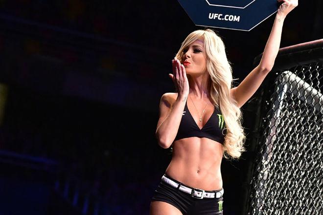 Самая красивая ринг-герл в UFC: Дженни Андраде культура