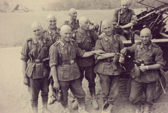 Немецкий штрафбат: как воевали плохие солдаты Вермахта вермахт