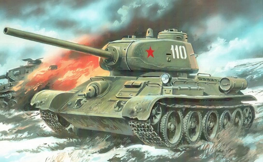 Т-34: западный след легендарного танка война