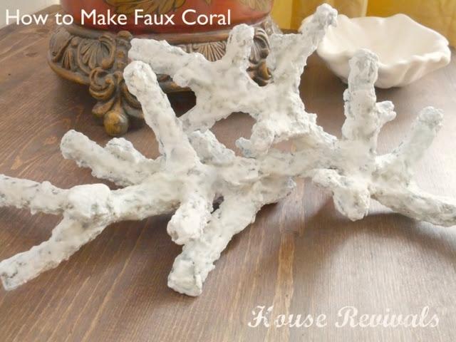 Воспоминания о лете: морская губка и кораллы своими руками домашний очаг...