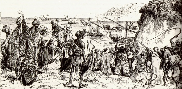 Как русские спасли Северный Кавказ от турецкого рабства дальние дали